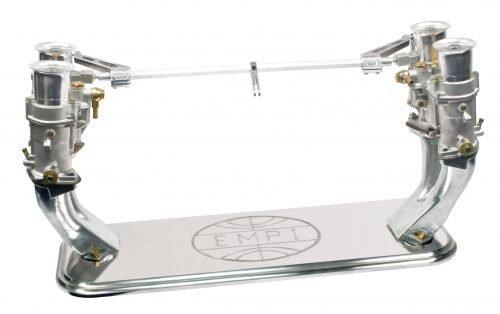 Polished Billet Aluminum Carburetor Display Stand