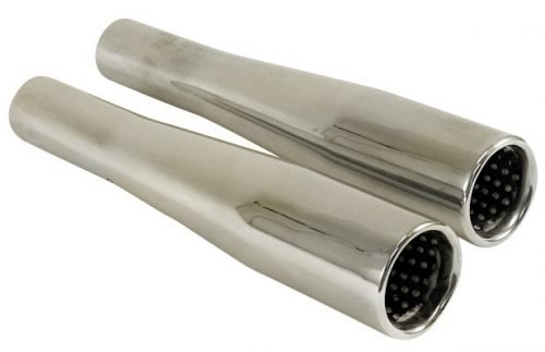 Chrome Tapered / Baffled Exhaust Tips