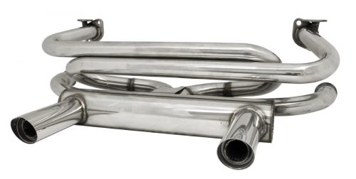 Stainless Steel 2-Tip Exhaust System
