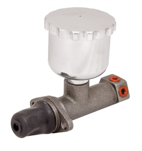Buggy Master Cylinder with Polished Aluminum Reservoir
