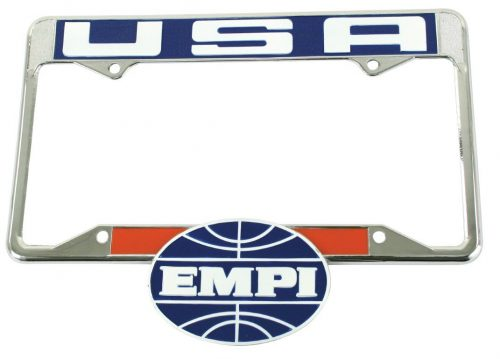 EMPI License Plate Frame