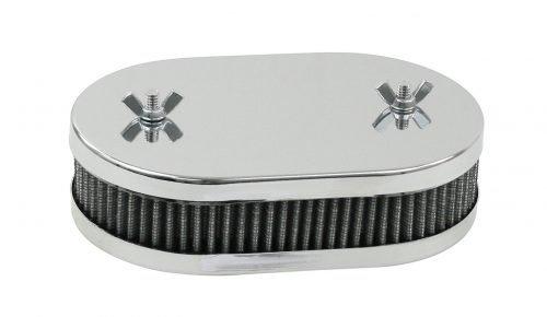 Chrome Oval Air Cleaner