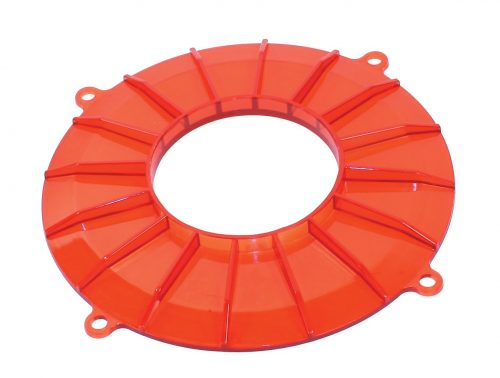 Finned Backing Plate Covers