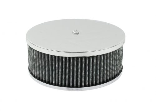 Round High Profile Chrome Air Cleaner
