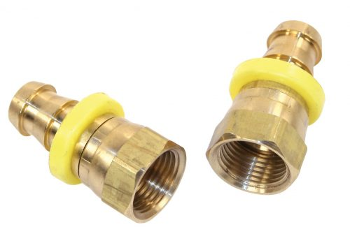 Female Swivel to Hose Barb Fitting