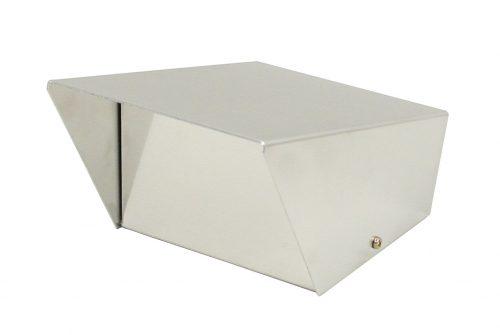 """Aluminum 4"""" SwitchBox without Holes"""