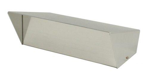 """Aluminum 9"""" SwitchBox without Holes"""