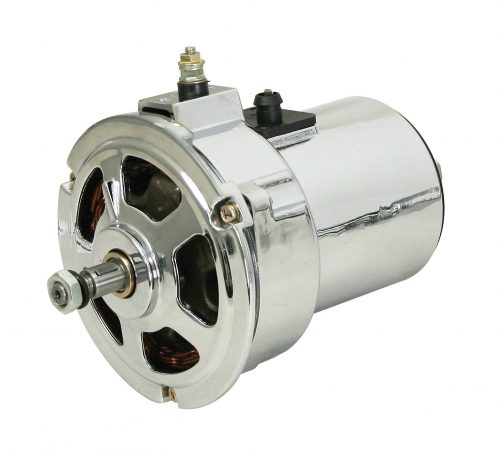 EMPI 75 Amp Chrome Alternator