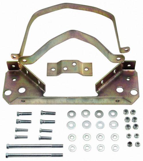 Solid Steel Trans Strap Kit