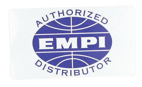 EMPI Authorized Distributor Decal