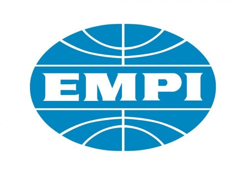 EMPI Oval Extra Large Sticker