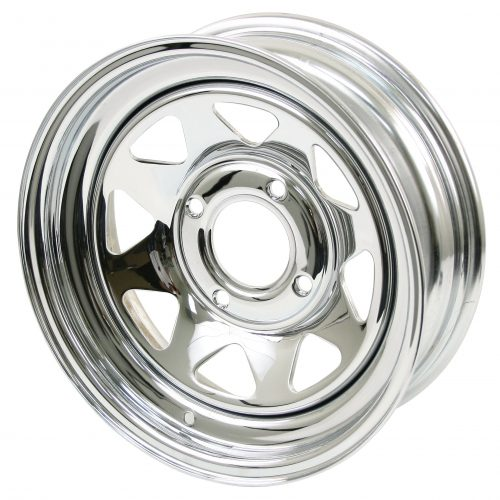 Chrome Spoke Steel Wheels