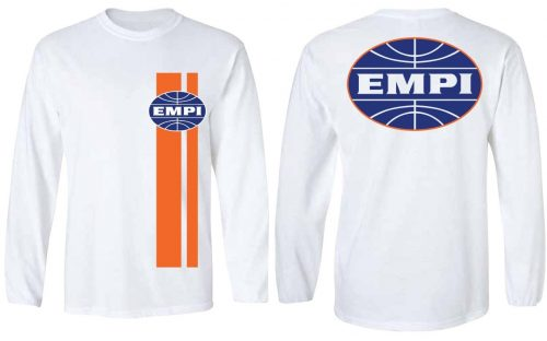 Orange Strip Long Sleeve Shirt
