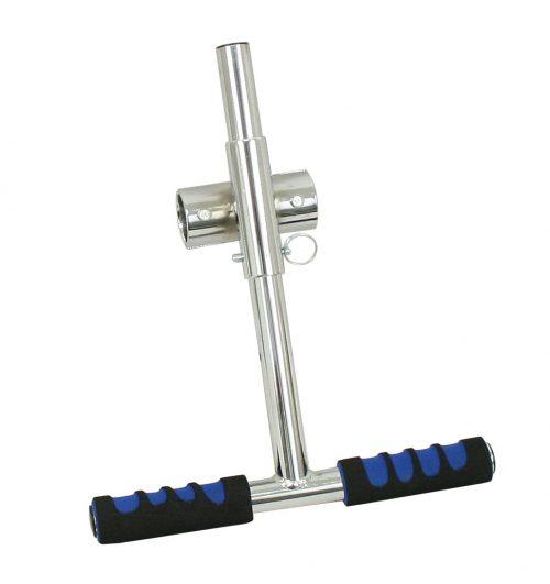 Adjustable Steel/Chrome Grab Handle
