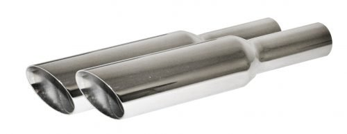 Chrome Baffled Exhaust Tips