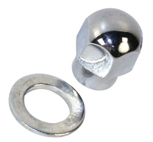Nut and Washer for Billet Alternator / Generator Pulley