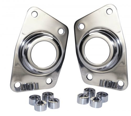 Polished Stainless Torsion End Plate