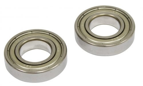 Replacement Bearings for Serpentine Belt Pulley System