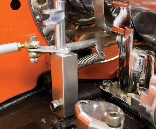 Universal Type 1 Twist Style Dual Carburetor Linkage