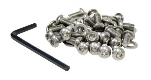 Stainless Steel 6mm Button Head Allen Shroud Screw Kit