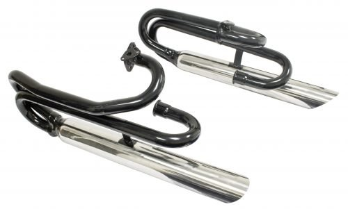 Low Dual Zoom Exhaust System