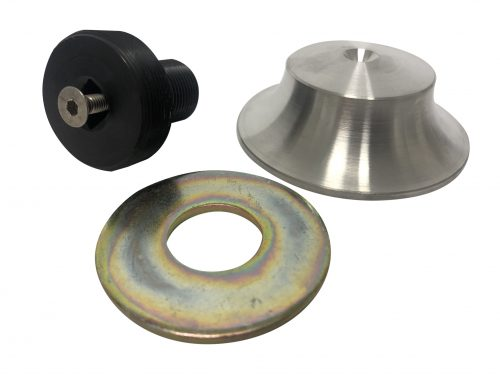 JayCee Broached Pulley Bolt with Billet Hat (Beauty Ring)