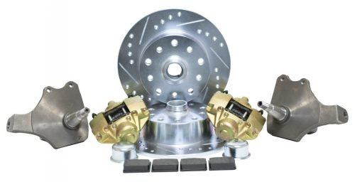 """Front Disc Brake Kit with 2-1/2"""" Drop Spindles"""