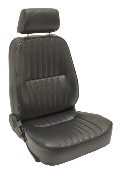Race-Trim Left Low-Back Seat with Headrest Only