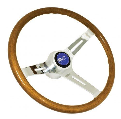 EMPI Classic Wood Steering Wheel Kit