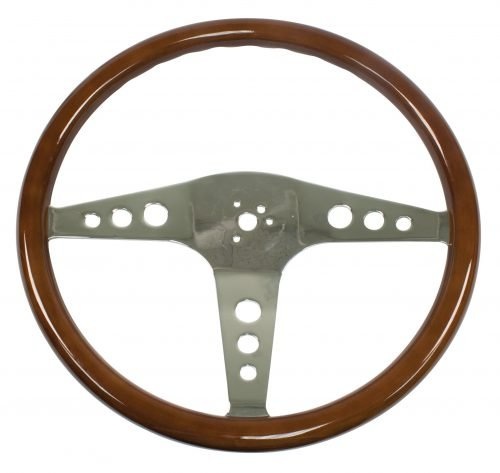 EMPI Type 2 Classic Wood Steering Wheel