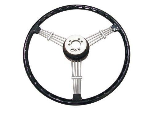 Banjo Style Black Vintage Steering Wheel Kit