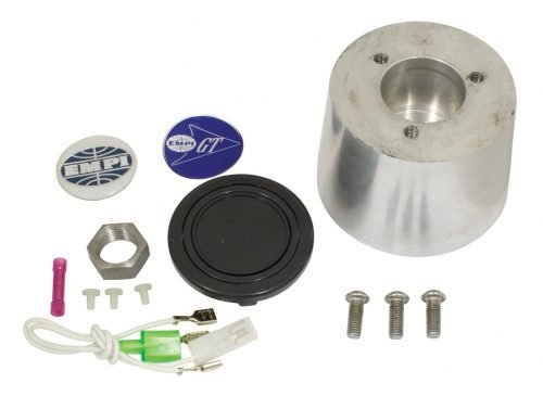 EMPI Polished Billet Aluminum Banjo Steering Wheel Kit