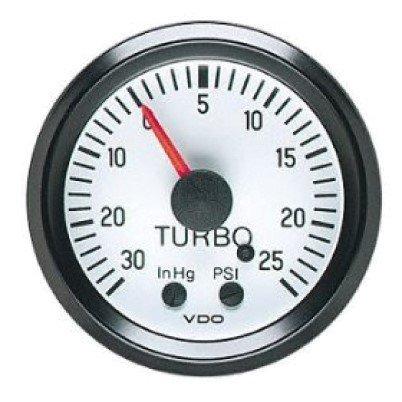 VDO White Turbo Boost