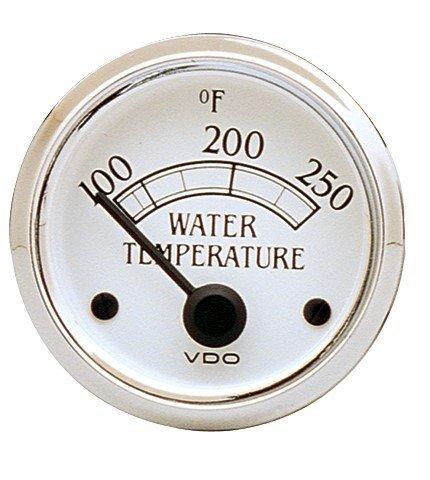 VDO White Water Temp Gauge